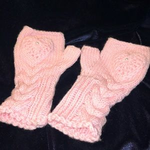 Gently Loved Handmade Fingerless Gloves